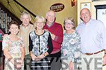 Eileen and Michael Somers Listowel, Pat and Breda Somers Killarney and Maurice and Mary Stack Ballybunion who were all celebrating their 45th wedding anniversaries in Lord Kenmares Killarney on Saturday night
