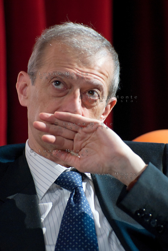 Piero Fassino durante l'incontro Municipy. Milano, 22 maggio 2011<br /> <br /> Piero Fassino during the meeting Municipy. Milan, 22 May, 2011