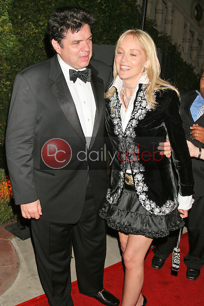 Oliver Platt and Sharon Stone<br />