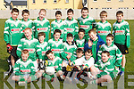 The Na Gaeil Team who played in an u13 GAA Blitz at Kerins ORahillys grounds on Saturday morning. Front row l-r: Conor Falvey, Darragh Sheehy, Senan Ross, Luke O'Connor, Eamon McAllen. Middle row l-r: Brendan O'Leary, Kieran Earley, Liam Herlihy, Darren Burns, Niall O'Brien, Glen Brassil, Ryan McGovern. Back row l-r: Jack Barry, Stephen Egan, Michael O'Leary, Gavin Peevers, David Kavanagh, Micheal Maher, Chris Cunningham, Alex O'Mahoney..