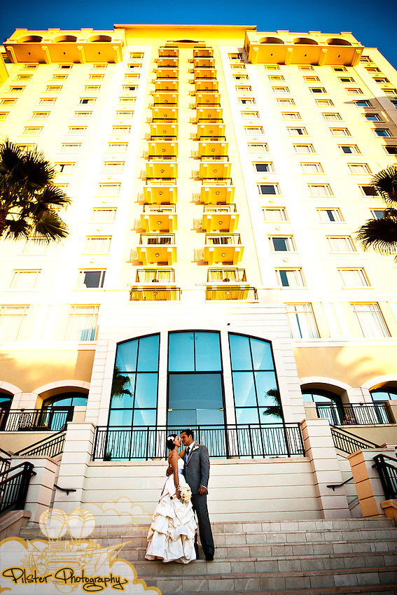 The wedding of Kelly Miniclier and Stephen Vallante on Saturday, November 6, 2010, at the Omni Orlando Resort at Championsgate in Kissimmee, Florida. (Chad Pilster, PilsterPhotography.net)