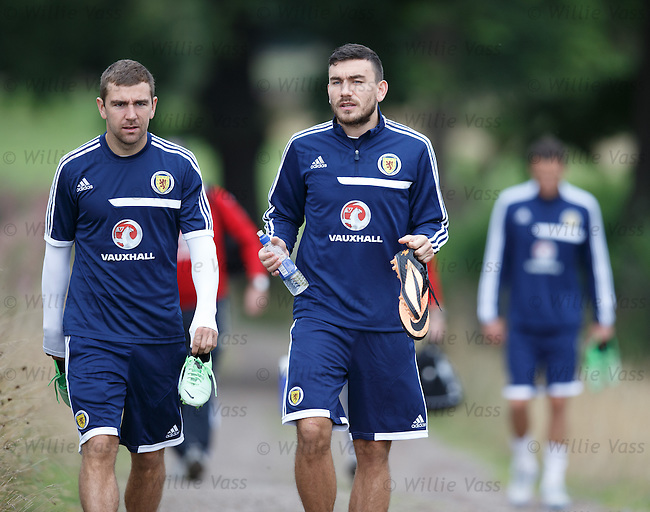 James McArthur and Robert Snodgrass
