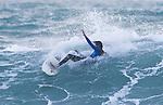 Surfing The Glen. Nelson, New Zealand. Monday 5 May 2014. Evan Barnes/www.shuttersport.co.nz