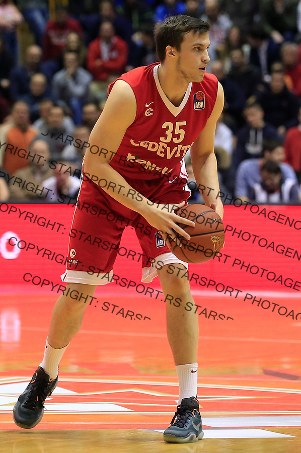 Kosarka ABA League season 2015-2016<br /> Crvena Zvezda v Cedevita<br /> Marko Arapovic<br /> Beograd, 04.01.2015.<br /> foto: Srdjan Stevanovic/Starsportphoto&copy;