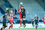 Patrick Mainka (1. FC Heidenheim 1846 #06), Joshua Sargent (Werder Bremen #19)<br /> <br /> <br /> Sport: nphgm001: Fussball: 1. Bundesliga: Saison 19/20: Relegation 02; 1.FC Heidenheim vs SV Werder Bremen - 06.07.2020<br /> <br /> Foto: gumzmedia/nordphoto/POOL <br /> <br /> DFL regulations prohibit any use of photographs as image sequences and/or quasi-video.<br /> EDITORIAL USE ONLY<br /> National and international News-Agencies OUT.
