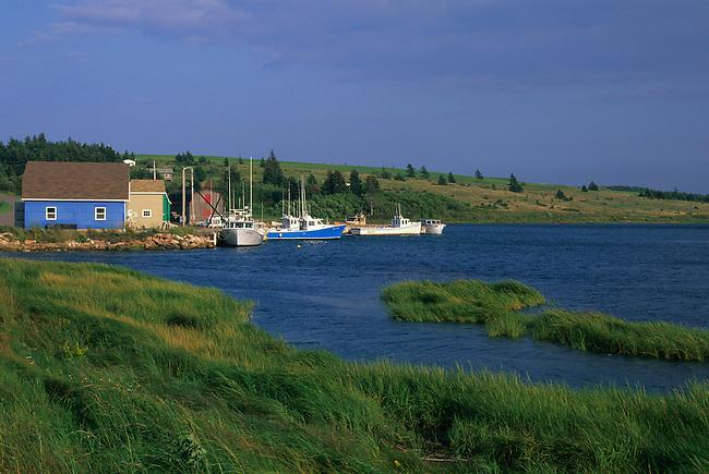 CANADA, PRINCE EDWARD ISLAND, FRENCH RIVER, FISHING HARBOR