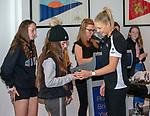 16/09/2018<br /> Australia Post<br /> One Netball Community Award<br /> Brighton Royal Yacht Club<br /> <br /> <br /> Photo: Grant Treeby/NA