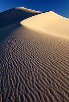 Sand dune in Mesquite Flat, Death Valley National Park, Californi