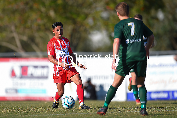 BRISBANE, AUSTRALIA - SEPTEMBER 2:  during the NPL Senior Men's Semi Final match between Olympic FC and Western Pride on September 2, 2018 in Brisbane, Australia. (Photo by Olympic FC / Patrick Kearney)