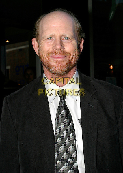 RON HOWARD.Cinderella Man - UK premiere at the Odeon Leicester Square, London.September 8th, 2005.headshot portrait beard facial hair.www.capitalpictures.com.sales@capitalpictures.com.© Capital Pictures.