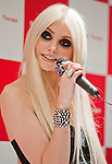 September 25, 2012, Tokyo, Japan - American actress, musician and model, Taylor Momsen, attends a event to promote the fashion brand Samantha Thavasa where selected customers were invited to attend. (Photo by Christopher Jue/AFLO)