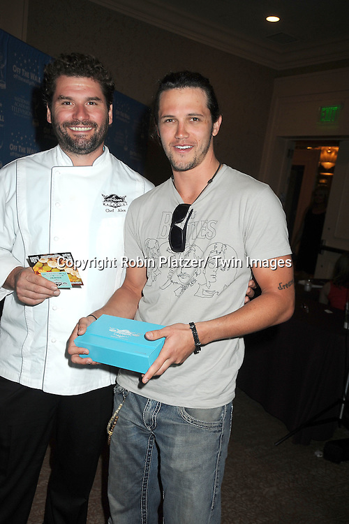 Nathan Parsons attends the Daytime Emmy Gift Suite on June 232, 2012 at the Beverly Hilton Hotel in Beverly Hills, California. Off thewallgifts.com set up the suite.