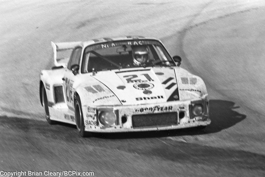 #21 Porsche 935 of  Volkert Merl, Reinhold Jöst, and Franz Konrad 13th place finish, 1978 24 Hours of Daytona, Daytona International Speedway, Daytona Beach, FL, February 5, 1978.  (Photo by Brian Cleary/www.bcpix.com)
