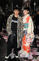 Yuya Nara and Mademoiselle Yulia in the front row<br /> <br /> Dior Homme show, Front Row, Pre Fall 2019, Tokyo, Japan - 30 Nov 2018<br /> CAP/SAT<br /> &copy;Satomi Kokubun/Capital Pictures