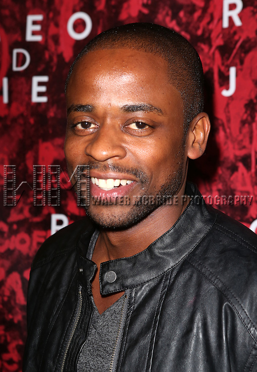 Dule Hill  attending the Broadway Opening Night Performance of 'Romeo and Juliet' at the Richard Rodgers Theatre in New York City on September 19, 2013.