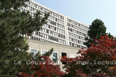 Genève, le 09.2008.BIT, bureau international du travail .© Le Courrier / J.-P. Di Silvestro