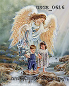 Dona Gelsinger, CHRISTMAS CHILDREN,angel, paintings, USGE0616,#xk#