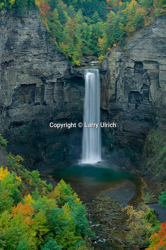 Taughannock Falls from Falls Overlook<br />