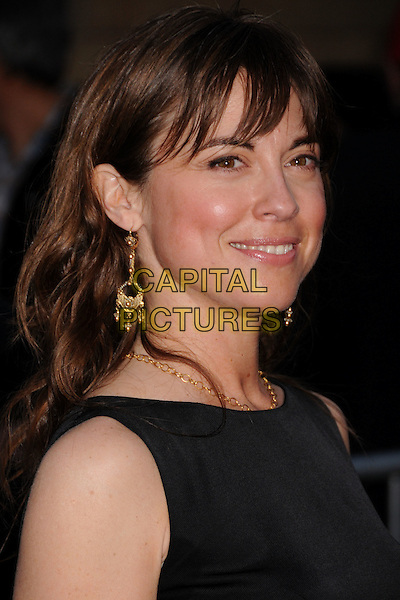 "REBECCA PIDGEON .""Redbelt"" Los Angeles Premiere at the Egyptian Theatre, Hollywood, California, USA, 7 April 2008..portrait headshot gold earrings .CAP/ADM/BP.©Byron Purvis/Admedia/Capital PIctures"