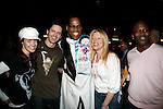 Adrian Baily ( Gypsy Robe Winner - LITTLE MERMAID ) with Sierra Boggess &amp; Sean Palmer &amp; Sheri Rene Scott &amp; Tituss Burgess<br /> Attending the Opening Night Gypsy Robe Ceremony for THE LITTLE MERMAID at the Lunt-Fointanne Theatre in New York City.<br /> January 10, 2008