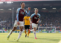 Photographer Rich Linley/CameraSport<br /> <br /> The Premier League - Burnley v Wolverhampton Wanderers - Saturday 30th March 2019 - Turf Moor - Burnley<br /> <br /> World Copyright © 2019 CameraSport. All rights reserved. 43 Linden Ave. Countesthorpe. Leicester. England. LE8 5PG - Tel: +44 (0) 116 277 4147 - admin@camerasport.com - www.camerasport.com