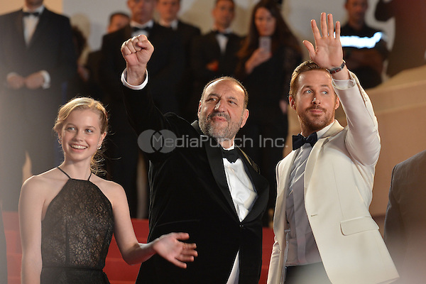 Ryan Gosling and Joel Silver at the &acute;The Nice Guys` screening during The 69th Annual Cannes Film Festival on May 15, 2016 in Cannes, France.<br /> CAP/LAF<br /> &copy;Lafitte/Capital Pictures /MediaPunch ***NORTH AND SOUTH AMERICA ONLY***