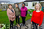 At the Tralee International Resource Centre in Boherbee on Tuesday.<br /> Front left:  Mary Carroll.<br /> Back l to r: Mary and Brogan O'Sullivan and Bimpe Obadina.