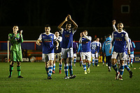 Barrow players thank the travelling fans during Braintree Town vs Barrow, Vanarama National League Football at the IronmongeryDirect Stadium on 1st December 2018