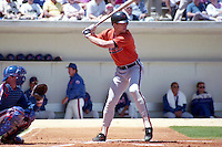 Baltimore Orioles Cal Ripken Jr. during spring training circa 1990 at Tradition Field in Port St. Lucie, Florida.  (MJA/Four Seam Images)