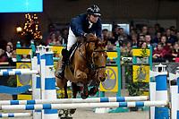 ZUIDBROEK - Paardensport, ICCH Zuidbroek, springen internationaal Grote Prijs , 05-01-2019, Harrie Wiering met Fantasy Colada