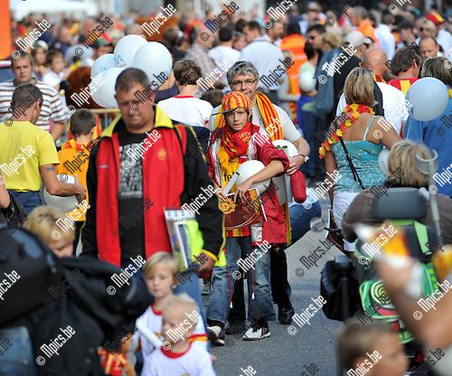 2010-09-04 / Voetbal / seizoen 2010-2011 / Fandag KV Mechelen / Veel volk op de fandag..Foto: Mpics