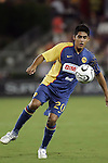 25 July 2007:  Alejandro Arguello (20) of Club America.  Club America was defeated by the Houston Dynamo 0-1 at Robertson Stadium in Houston, Texas, in a first round SuperLiga 2007 match.