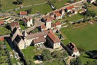 Ancien prieure, etape sur les chemins de Saint-Jacques de Compostel situe dans la vallee du Cele..Old prioress, stage on the ways of Saint-Jacob de Compostel locates in the valley of Cele.