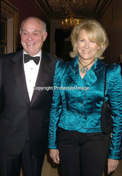Marshall Rose and wife Candice Bergen ..at the New York Landmarks Conserancy LIving Landmarks ..Celebration 2004 at The Plaza Hotel on November 3, 2004. ..Photo by Robin Platzer, Twin Images
