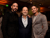 LOS ANGELES - SEPTEMBER 21: (L-R) Clayton Cardena, John Landgraf, Chairman, FX Networks & FX Productions, and JD Pardo attend the FX Networks & Vanity Fair Pre-Emmy Party at Craft LA on September 21, 2019 in Los Angeles, California. (Photo by Frank Micelotta/FX/PictureGroup)