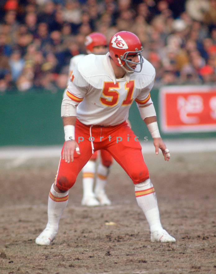 Kansas City Chiefs JIm Lynch (78) during a game from his 1971 season with the Kansas City Chiefs.  JIm Lynch played for 11 years all with the Kansas City Chiefs and was a 1-time Pro Bowler.(SportPics)