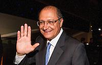 SAO PAULO, SP, 02 DE DEZEMBRO - PREMIO CRAQUE DO BRASILEIRÃO - Governador Geraldo Alckmin durante a cerimônia da Premiação Brasileirão 2012, na casa de shows HSBC Arena, na zona sul de São Paulo, nesta segunda-feira FOTO: VANESSA CARVALHO - BRAZIL PHOTO PRESS.