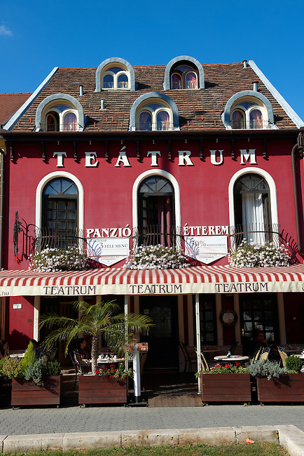 Theatre Tea Room (Teåtrum) - ( Gy?r )  Gyor Hungary