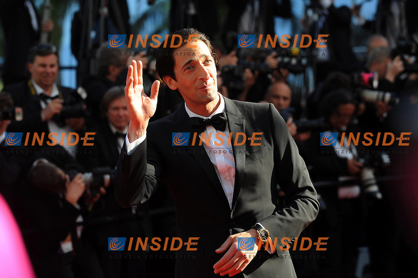Adrian Brody  .Cannes 21/5/2013 .66mo Festival del Cinema di Cannes 2013 .Foto Panoramic / Insidefoto .ITALY ONLY