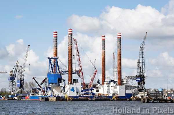 Nederland Amsterdam 2016 04 17.  Scheepswerf  Damen in Amsterdam Noord. Foto Berlinda van Dam / Hollandse Hoogte
