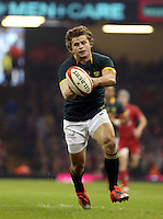 Pictured: Pat Lambie of South Africa Saturday 29 November 2014<br />