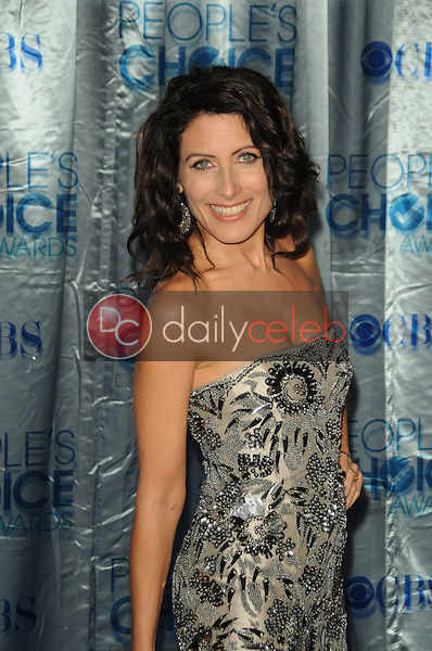 Lisa Edelstein<br /> at the 2011 People's Choice Awards - Arrivals, Nokia Theatre, Los Angeles, CA. 01-05-11<br /> David Edwards/DailyCeleb.com 818-249-4998