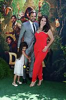 "LOS ANGELES - JUL 28:  Aitana Derbez, Eugenio Derbez, Alessandra Rosaldo at the ""Dora and the Lost City of Gold"" World Premiere at the Regal LA Live on July 28, 2019 in Los Angeles, CA"