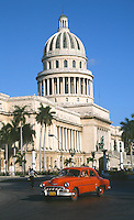 12 FEB 2003 - HAVANA, CUBA - The Capitolio .(PHOTO (C) NIGEL FARROW)
