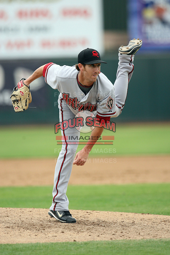 Tom Layne - Scottsdale Scorpions, 2009 Arizona Fall League.Photo by:  Bill Mitchell/Four Seam Images..