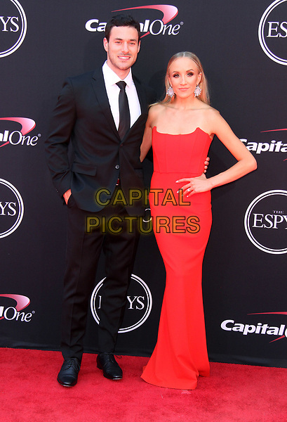 12 July 2017 - Los Angeles, California - Matthew Lombardi and Nastia Liukin. 2017 ESPYS Awards Arrivals held at the Microsoft Theatre in Los Angeles. <br /> CAP/ADM<br /> &copy;ADM/Capital Pictures