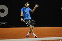 SAO PAULO,SP, 25.11.2015 - TENIS-ATP - Marco Cecchinato durante partida contra Guilherme Clezar, válida pelo ATP Challenger Tour Finals, realizado no Esporte Clube Pinheiros zona sul da cidade de São Paulo, nesta quarta-feira, (25). (Foto: Douglas Pingituro/Brazil Photo Press)