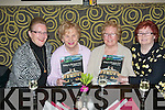 At the launch of the new menu in Kirby's Brogue, Tralee last Friday night were l-r: Christine O'Connor, Peggy King with Eileen and Tess Fitzgerald.