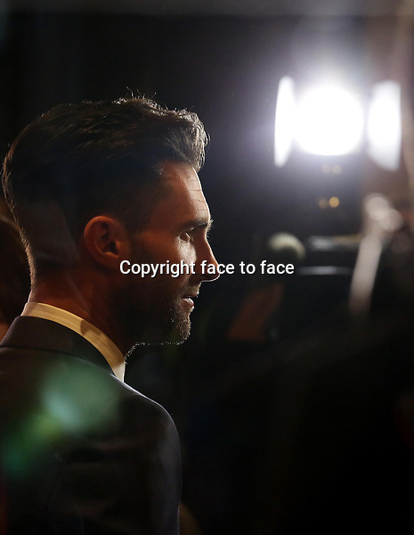 Adam Levine attending the 2013 Tiff Film Festival Red Carpet for &quot;Can A Song Save Your Life?&quot; at The Princess of Wales Theatre on September 7, 2013 in Toronto, Canada.<br /> Credit: McBride/face to face