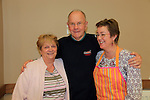 Ann Levins, Bill McRevilley Hedie Kelly at the coffee morning in st Peters for the RNLI<br /> Picture: www.newsfile.ie